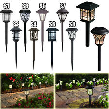 OUTDOOR SOLAR LED PATHWAY LIGHTS Walkway Garden Landscape Path Lighting 6-PACK