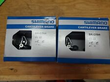 Shimano Altus Br-Ct91F And Br-Ct91R Cantilever Brakes Front and Rear brakesets