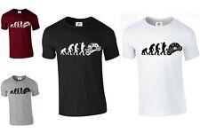 Evolution Of Motorbike T-Shirt cycle Rider Bike Biker Gift XS-3XL (BIKE,TSHIRT)
