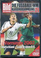 WM Klassikersammlung 21 Vorrunde 2002 Deutschland vs Saudi-Ararbien DVD + Heft