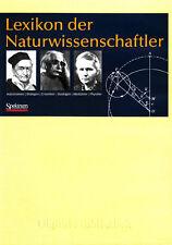 Lexikon der Naturwissenschaftler über 3000 Forscher CD Digitale Bibliothek Nr 85