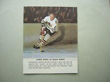 1964/65 TORONTO STAR WEEKLY NHL HOCKEY PHOTO ELMER VASKO CHICAGO BLACK HAWKS
