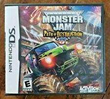 Monster Jam: Path of Destruction (Nintendo DS, 2010)