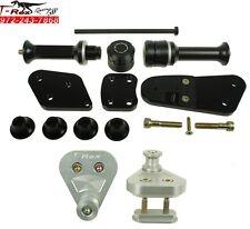 2008 - 2012 Harley-Davidson XR1200 Sportster Frame Sliders Spool Adapters
