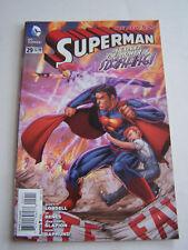 DC COMICS WARNER BROS , SUPERMAN , IN ENGLISH N° 29 DE 2014 .