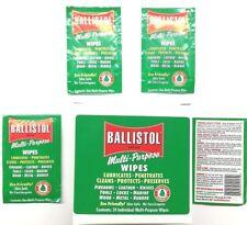 Ballistol Multi Purpose Lubricant Gun Cleaning wipes-Preserving Oil - Pack of 20