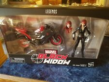 Marvel Legends Black Widow with Motorcycle