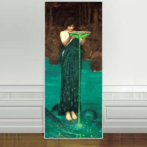"Stunning John Waterhouse, Circe Invidiosa ~ CANVAS ART PRINT 24""X10"""