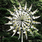 Unique and Magical Metal Windmill - Sculptures Move with The Wind Lawn Wind Spi