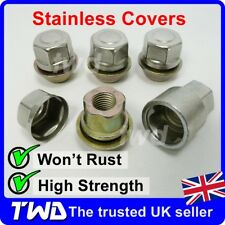 4x TAPERED SEAT ALLOY WHEEL LOCKING NUTS - ROVER / MG SECURITY STUD BOLT [N0t]