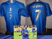 Italy Italia Shirt Puma Adult L Del Piero Soccer Football Jersey 3* Vintage Top