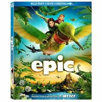 Epic (Blu-ray Disc Only, 2013, Region A) Usually ships within 12 hours!!!