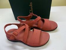New Clarks Springer, Dusty Rose Sandal Size 9-W