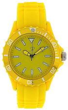 Reflex SR005 Ladies / Unisex Yellow Silicon Sports Watch