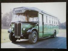 POSTCARD GREEN LINE T TYPE COACH
