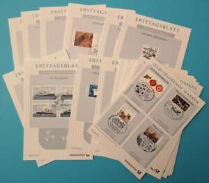 Bundesrepublik Bund ETB kompl. Jahrgang 2010 komplett mit allen Sonderblättern