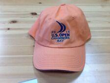 US Open 2015 Chambers Bay NWOT USGA Member Hat Light Orange
