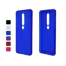 Funda Mate Para Nokia 6 (2018) FUNDA PROTECTORA tpu-m - Opción DEL COLOR
