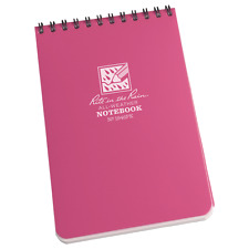 Rite in the Rain Pink Top Spiral Notebook 4 x 6  #1946 BOGO Limited Qty