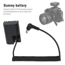 DR-E6 LP-E6 Camera Dummy Battery DC Coupler External Power Supply for Canon 5D2