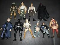 Lot of 10 - 1990s LFL Star Wars Action Figures NO DUPLICATES RARE SET CLEAN🤝👍