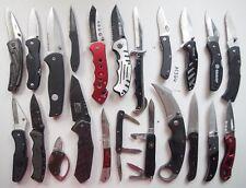 22 Pocket Knife Lot Gerber Victorinox Buck CRKT Leatherman Kershaw Schrade