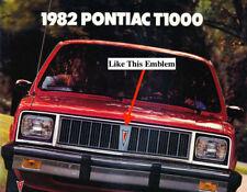 NOS PONTIAC 1982 1983 1984 1985 1986 T1000 GRILLE CENTER MEDALLION    2