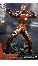 Hot Toys QS005 Avengers AOU Ultron Iron Man Mark 43 XLIII 1/4 Quarter Scale