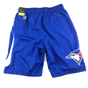 New Men's Nike Toronto Blue Jays Dri-Fit Shorts Size Small MLB Baseball