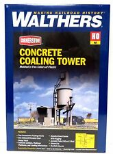 HO Scale Walthers Cornerstone 933-3042 Concrete Coaling Tower Building Kit