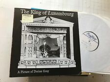 the king of luxembourg a picture of dorian gray TEST PRESS 87 EP LP simon turner