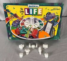 2001 Game of Life Monsters, Inc Edition Board Game Replacement 7 Buildings Only