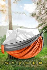 Hängematte mit moskitonetz 260 x 140 cm, belastbar bis 200 kg für Camping Reisen