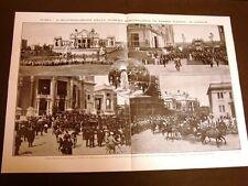 Roma 21 aprile 1911 Mostra etnografica Piazza Armi + Maria Luisa Pirotta Alciati