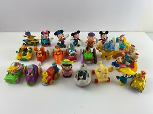 Mixed Lot of 23 Small Toy Playset Figures & Kids Meals, Disney, Rugrats, Peanuts