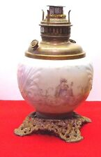 1890's The American Eureka GWTW Parlor Kersene Lamp    Victorian picture