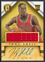 2013-14 Gold Standard #241 Tony Snell RC Auto Jersey Chicago Bulls