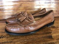 Men's Cole Haan Casual Loafers Shoes Brown Leather Size 11.5 M