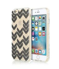 Incipio Design Series Shell Case For iPhone 6/6S - Clear with Black Chevrons