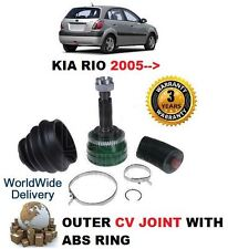 FOR KIA RIO HATCHBACK 1.5 CRDi 8/2005 > CONSTANT VELOCITY CV JOINT WITH CV BOOT