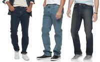 Urban Pipeline Mens Jeans Max Flex Straight Stretch size 29 30 33 34 36 NEW