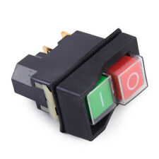 IP55 KJD17 KLD28 4Pin Start Stop On Off Volt Release Switch 250V Interrupteur fr