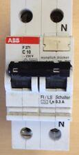 ABB FI-LS-Schutzschalter C10A 2polig 10/0,3 A  F271   C10/2/03 Nr.A12