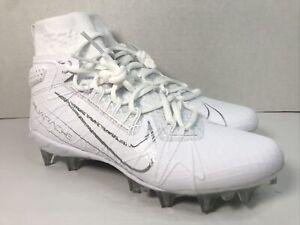 Nike Alpha Huarache 7 Elite Lacrosse Cleats CJ0224-106 White LAX Men's Size 7.5