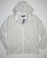New Tavik Mens Rox Lined Full Zip Windbreaker Hooded Jacket Coat Large