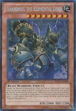 YuGiOh Grandsoil the Elemental Lord - REDU-EN038 - Secret Rare - 1st Edition NM