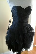NEW W/ TAG FLIRT MAGGIE SOTTERO FORMAL BRIDAL PROM DRESS BLACk SIZE 10 MRSP$338