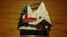 Puy Saint Vincent France Snow Skiing Lapel Hat Ski Pin Ver 1