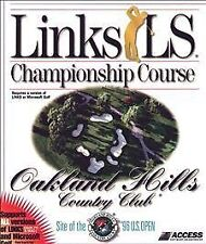 Links LS Championship Course: Oakland Hills Country Club (PC, 1997)