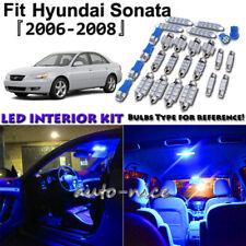 8x Blue LED Interior Lights Package Kit For 2006 2007 2008 Hyundai Sonata
